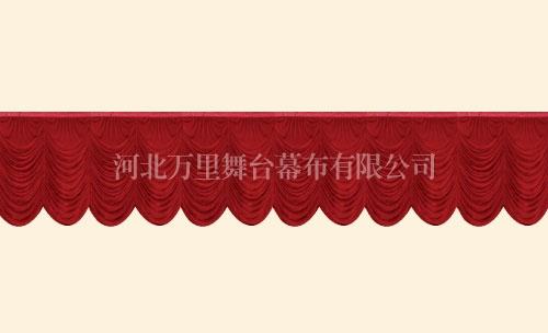 串叠前檐幕